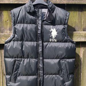 U.S. Polo Assn. Black Vest.